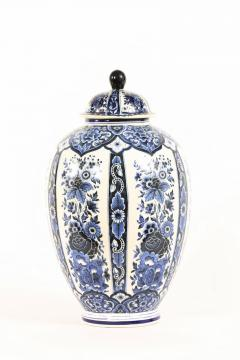 Dutch Porcelain Covered Decorative Urn - 1338762