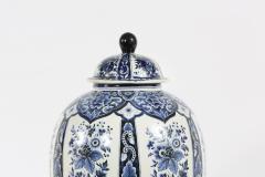 Dutch Porcelain Covered Decorative Urn - 1338769