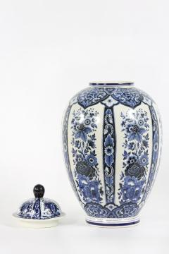 Dutch Porcelain Covered Decorative Urn - 1338772