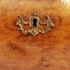 Dutch Rococo Burl Walnut Bookcase Cabinet circa 1770s - 903314