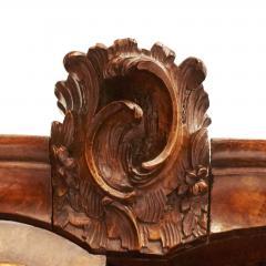 Dutch Rococo Burl Walnut Bookcase Cabinet circa 1770s - 903315