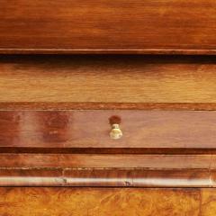 Dutch Rococo Burl Walnut Bookcase Cabinet circa 1770s - 903318