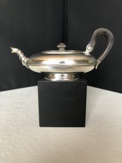 Dutch Silver Teapot - 1644896