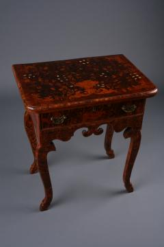 Dutch late Baroque floral Marquetry side Table Netherlands ca 1710 - 884685