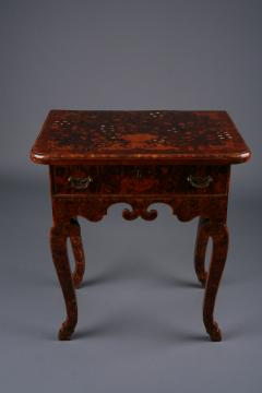Dutch late Baroque floral Marquetry side Table Netherlands ca 1710 - 884686