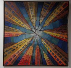 E Lipschitz Mid Century Modernist Paintin New York City - 1257969
