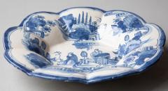 EARLY 18TH CENTURY CIRCULAR FAIENCE FRUIT DISH - 1791644