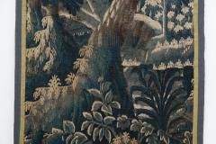 EARLY 18TH CENTURY VERDURE TAPESTRY FRAGMENT AUBUSSON - 890162