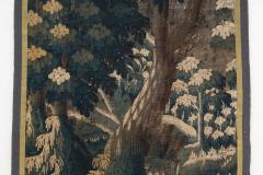 EARLY 18TH CENTURY VERDURE TAPESTRY FRAGMENT AUBUSSON - 890163