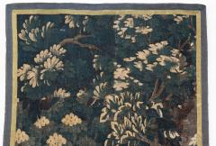 EARLY 18TH CENTURY VERDURE TAPESTRY FRAGMENT AUBUSSON - 890166