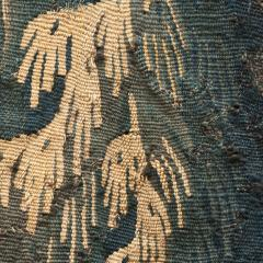 EARLY 18TH CENTURY VERDURE TAPESTRY FRAGMENT AUBUSSON - 890167