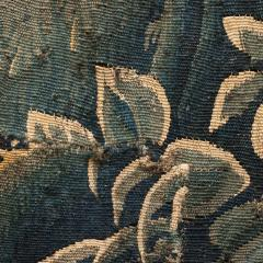 EARLY 18TH CENTURY VERDURE TAPESTRY FRAGMENT AUBUSSON - 890168