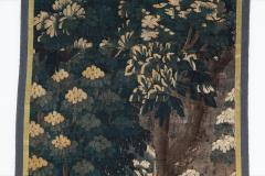 EARLY 18TH CENTURY VERDURE TAPESTRY FRAGMENT AUBUSSON - 890169