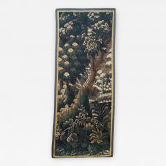 EARLY 18TH CENTURY VERDURE TAPESTRY FRAGMENT AUBUSSON - 891174