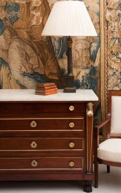 EARLY 19TH CENTURY CONTINENTAL WALNUT COMMODE - 689993