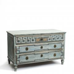 EARLY 19TH CENTURY SWEDISH GUSTAVIAN CHEST OF DRAWERS - 1991979