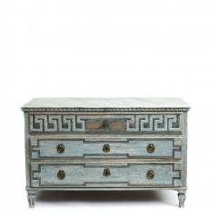 EARLY 19TH CENTURY SWEDISH GUSTAVIAN CHEST OF DRAWERS - 1991980