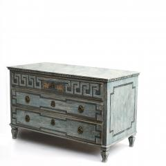 EARLY 19TH CENTURY SWEDISH GUSTAVIAN CHEST OF DRAWERS - 1991981