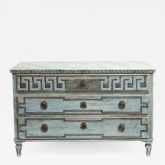 EARLY 19TH CENTURY SWEDISH GUSTAVIAN CHEST OF DRAWERS - 1996463