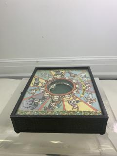 EARLY COLORFUL KENTUCKY DERBY DICE GAME - 1120691