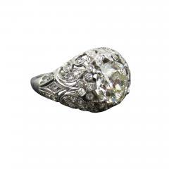 EDWARDIAN PLATINUM DIAMOND ENGAGEMENT OR COCKTAIL RING - 1090923