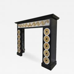 EMILIO TERRY Emilio Terry attributed superb neo classic marquetery fireplace mantel - 1704779