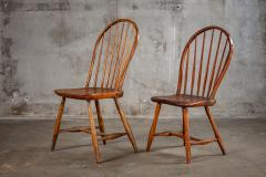 ENGLISH SPINDLEBACK SIDE CHAIRS - 1052999