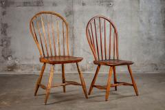 ENGLISH SPINDLEBACK SIDE CHAIRS - 1053000