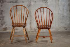 ENGLISH SPINDLEBACK SIDE CHAIRS - 1053001