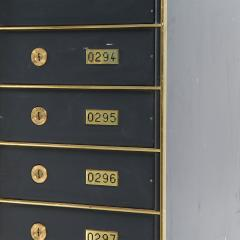 ENUMERATED STACKED SAFETY DEPOSIT BOXES - 1708173