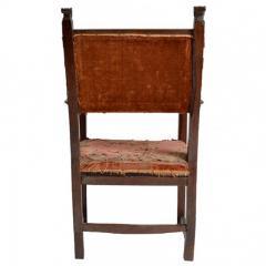 Early 17 18th Century Spanish Walnut Armchair - 176794