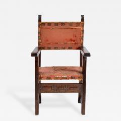 Early 17 18th Century Spanish Walnut Armchair - 176986