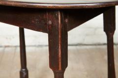 Early 18th Century English Oak Oval Table - 1953168