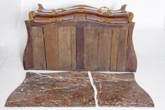 Early 18th Century French Regence Dore Bronze Bombe Commode - 1983625