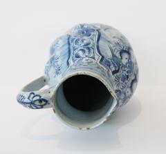 Early 18th Century German Faience Blue and White Jug Nurenberg  - 351330