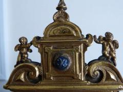 Early 18th Century Limoges Gilt Bronze Travel Altarpiece - 109354