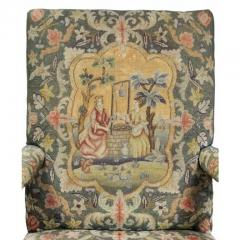 Early 18th Century Queen Anne Walnut and Needlepoint Upholstered Armchair - 1532241