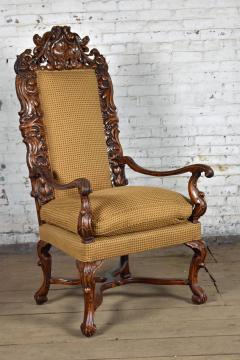 Early 18th Century Regence Northern French Flemish Oversized Armchair - 1300666