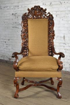 Early 18th Century Regence Northern French Flemish Oversized Armchair - 1300667