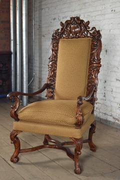 Early 18th Century Regence Northern French Flemish Oversized Armchair - 1300668