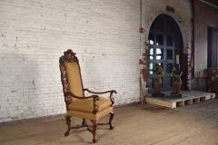 Early 18th Century Regence Northern French Flemish Oversized Armchair - 1300669