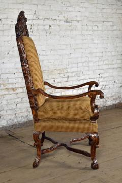 Early 18th Century Regence Northern French Flemish Oversized Armchair - 1300670