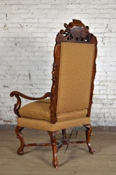 Early 18th Century Regence Northern French Flemish Oversized Armchair - 1300671