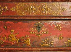 Early 18th Century Venetian Baroque Chinoiserie Painted Desk or Commode - 631133