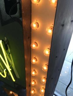 Early 1950s Lighted Neon Pharmacy Sign - 1947891