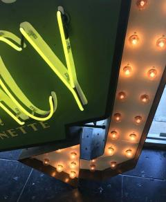 Early 1950s Lighted Neon Pharmacy Sign - 1947892