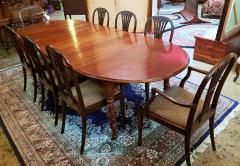 Early 19th Century American Cherry Extendable Dining Table - 1705725