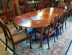 Early 19th Century American Cherry Extendable Dining Table - 1705727