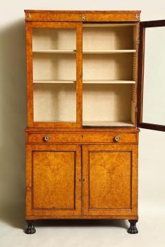 Early 19th Century Burr Oak Cabinet - 1821978