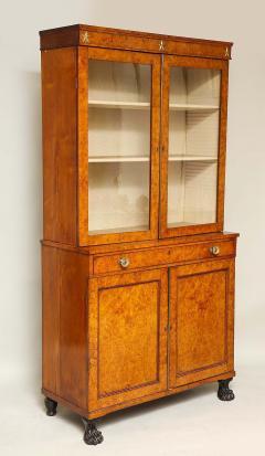 Early 19th Century Burr Oak Cabinet - 1821979